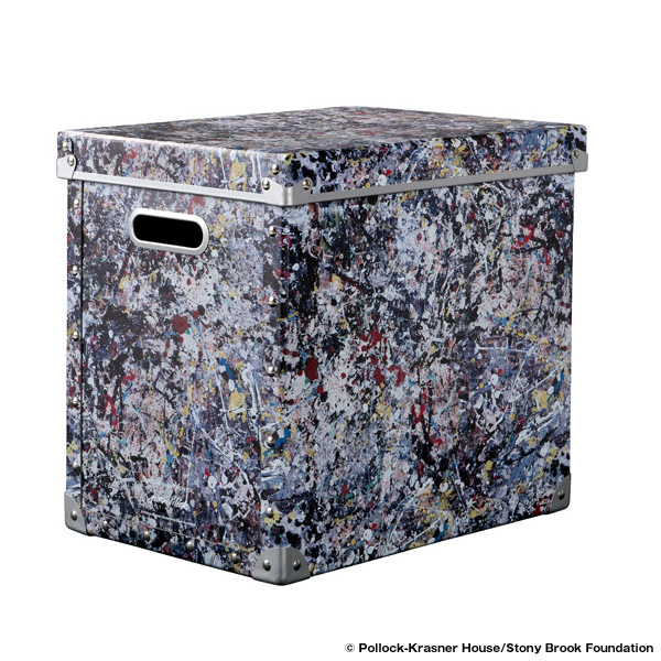"LARGE FIBER BOX ""JACKSON POLLOCK STUDIO 2"" made by ADACHISHIKI"
