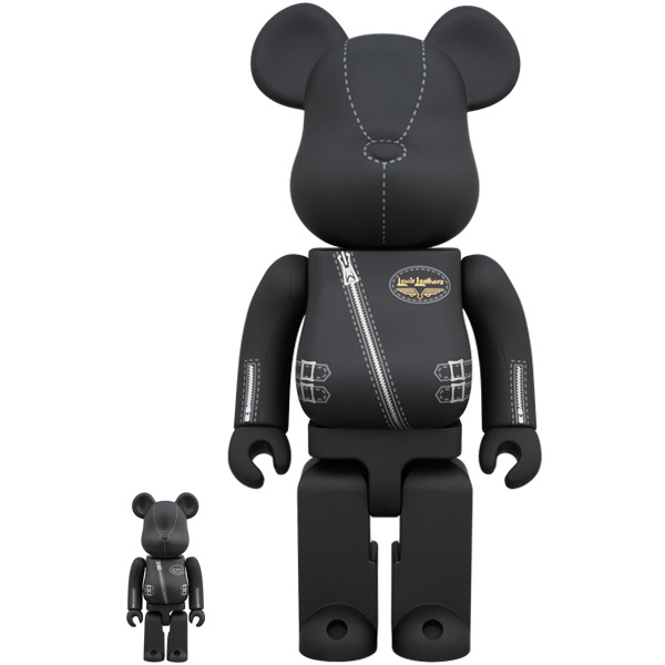 BE@RBRICK × Lewis Leathers 100% & 400%