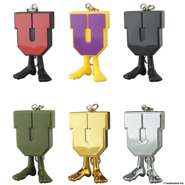 UNDEFEATED U-MAN KEYCHAIN /10月4日(金)より