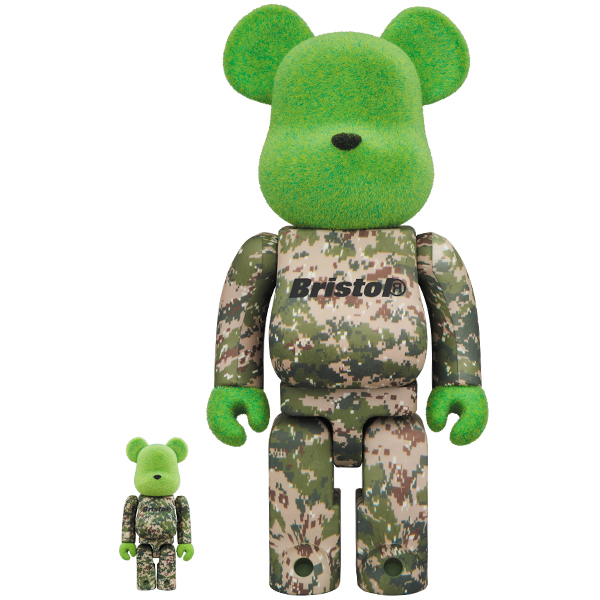 BE@RBRICK READYMADE x F.C.Real Bristol 100% & 400%