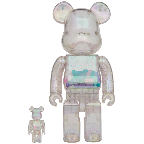 BE@RBRICK X-girl 100% & 400%