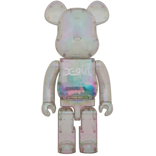 BE@RBRICK X-girl 1000%