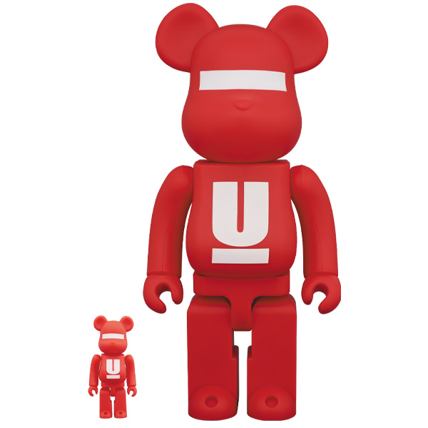 BE@RBRICK UNDERCOVER 100% & 400% LOGO