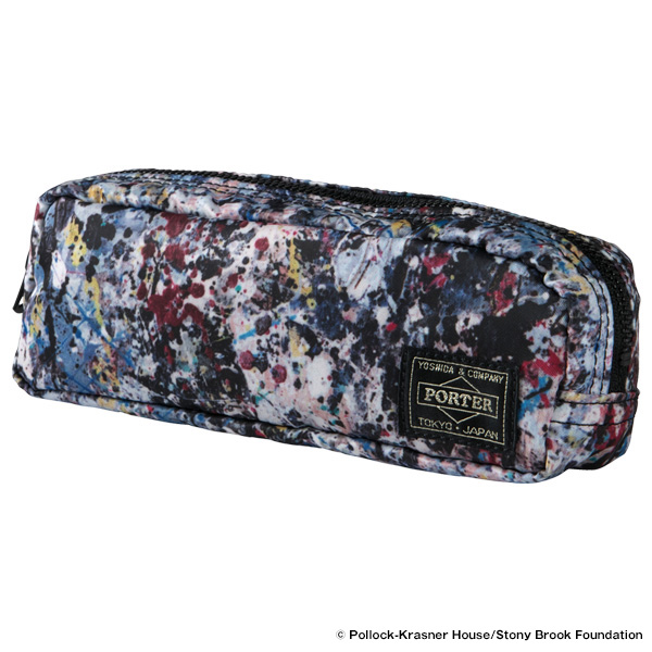 "PEN CASE ""JACKSON POLLOCK STUDIO 2"" made by PORTER"