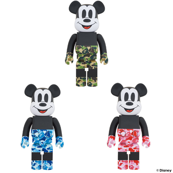 BE@RBRICK BAPE® MICKEY MOUSE 1000%