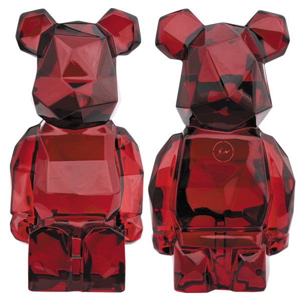 Baccarat BE@RBRICK fragmentdesign POLYGON RED /10月18日(金)より