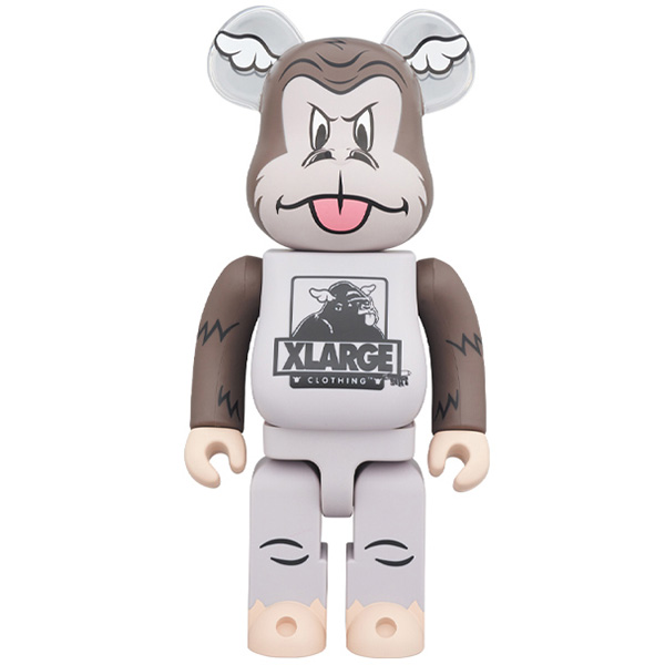 BE@RBRICK XLARGE × D*Face 1000% /11月30日(土)より