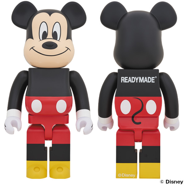 BE@RBRICK READYMADE MICKEY MOUSE 1000%/11月30日(土)より