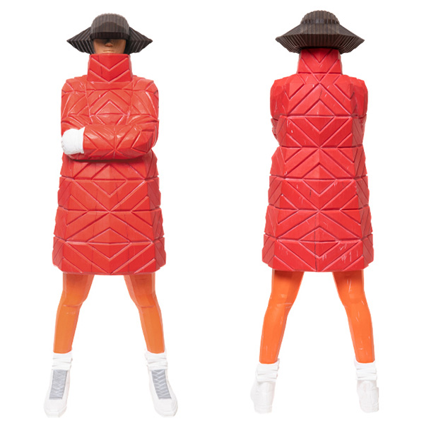 B-GIRL Down Jacket NAGAME OHKIME