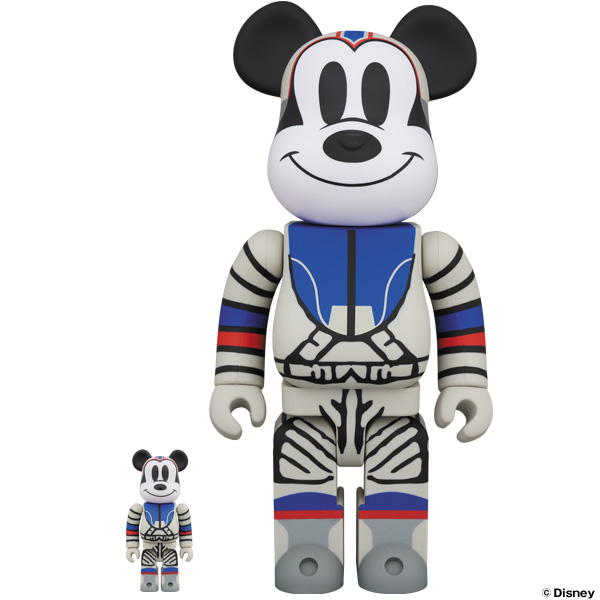 BE@RBRICK BILLIONAIRE BOYS CLUB MICKEY MOUSE 100% & 400% / 1000% / 11月9日(土)より