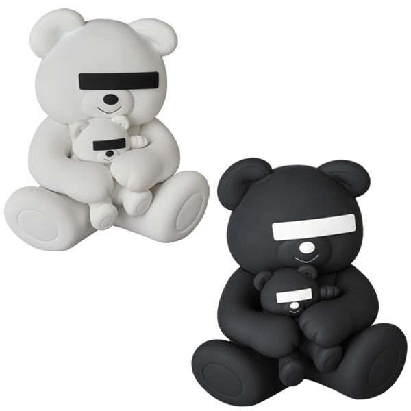 VCD UNDERCOVER BEAR WHITE / BLACK