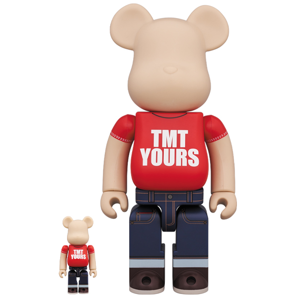 TMT BE@RBRICK 20th Anniv. Ver. 100% & 400%