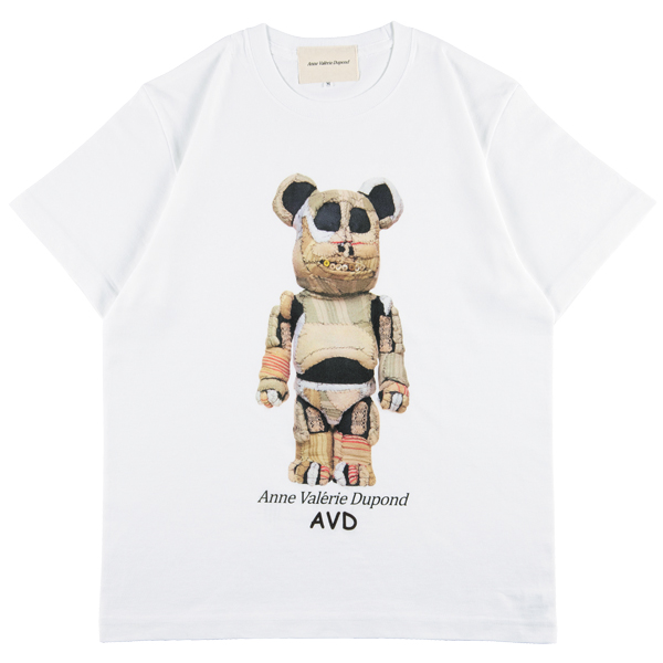 MLE × Anne Valerie Dupond BE@RBRICK TEE A