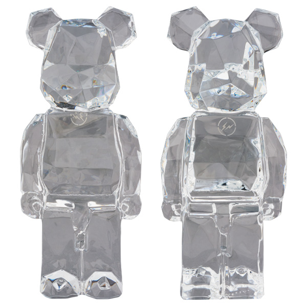 Baccarat BE@RBRICK fragmentdesign POLYGON STANDING