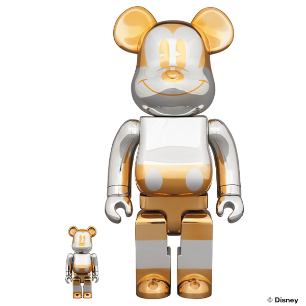 BE@RBRICK FUTURE MICKEY 100% & 400%