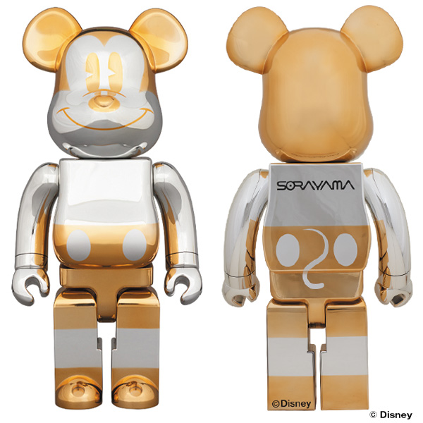 BE@RBRICK FUTURE MICKEY 1000%