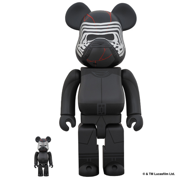 BE@RBRICK KYLO REN (TM) 100% & 400% (The Rise of Skywalker Ver.)