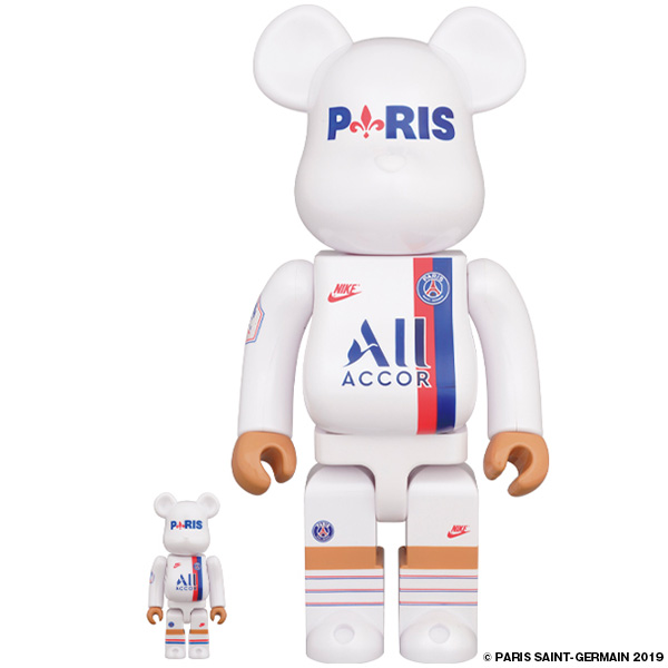 BE@RBRICK 100% & 400% PARIS SAINT-GERMAIN/1月2日(木)より