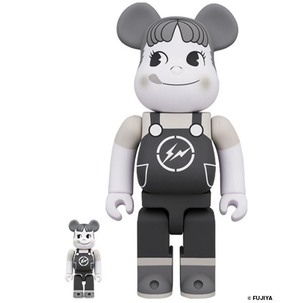 MILKY THE CONVENI PEKO / MILKY BE@RBRICK 100%&400%  (BLACK / COLOR) /1月24日(金)より