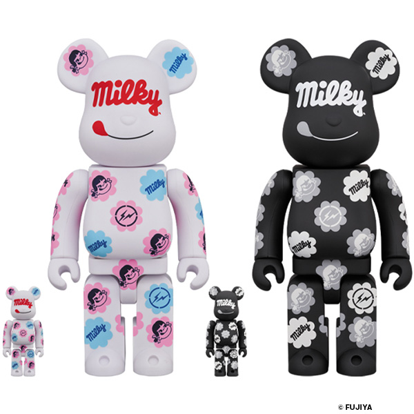 MILKY THE CONVENI MILKY BE@RBRICK 100% & 400% COLOR/BLACK