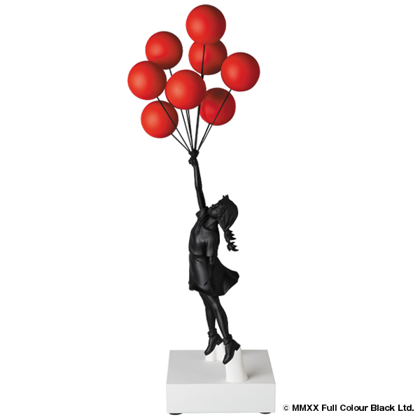 Sync. Flying Balloons Girl(Red Balloons w/Black Ver.)