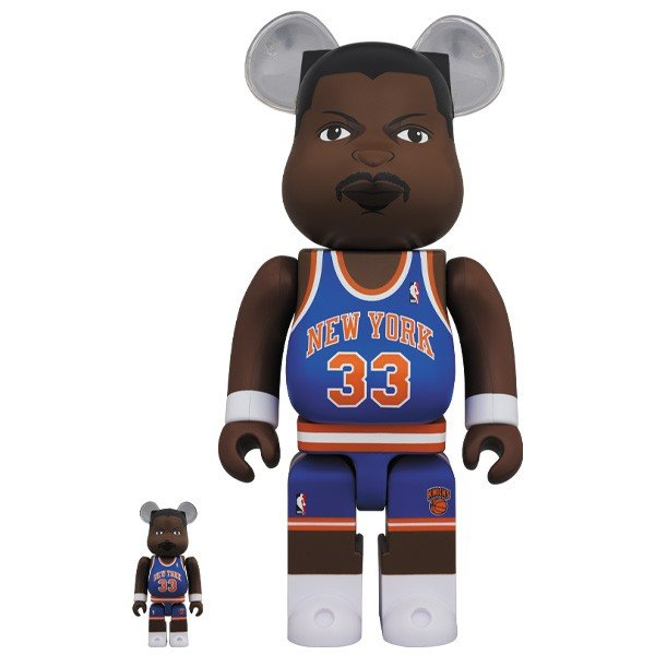 限定品発売のお知らせ(BE@RBRICK Patrick Ewing (New York Knicks) 100% & 400%、BE@RBRICK ANDY WARHOL The Last Supper 100% & 400%/1000%)/1月18日(土)12時より