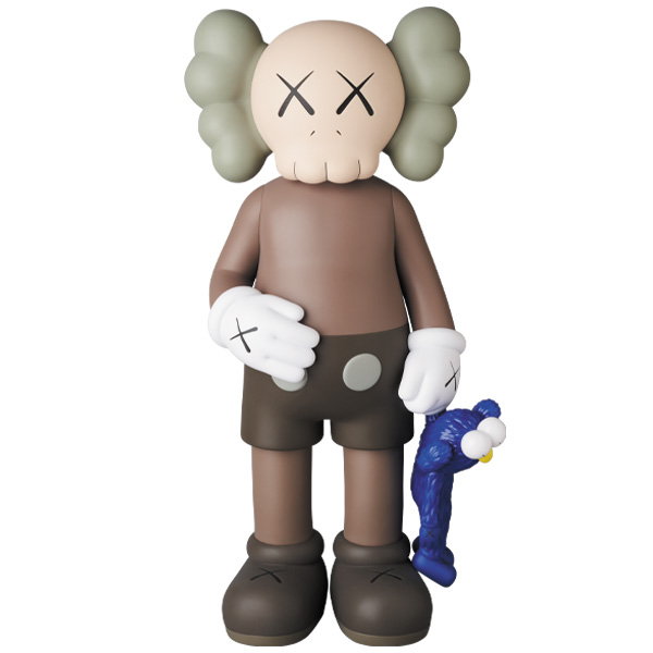 KAWS SHARE BROWN