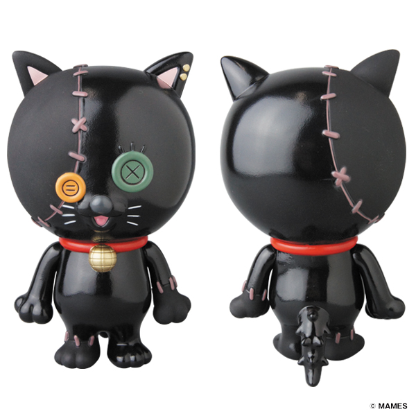 MEDIBUTTON BLACK CAT Ver.