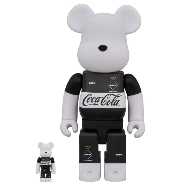 BE@RBRICK F.C.Real Bristol × COCA-COLA 100% & 400%