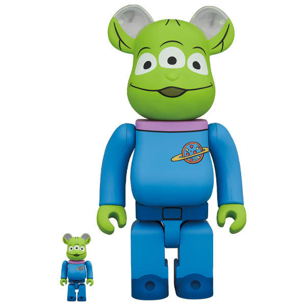 BE@RBRICK ALIEN 100% & 400%