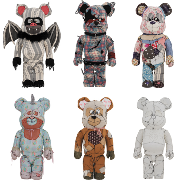 Anne Valerie Dupond ONE OF KIND BE@RBRICK 1000%