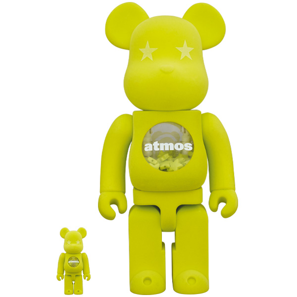 BE@RBRICK atmos x LACOSTE 100% & 400%