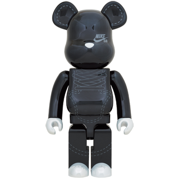 BE@RBRICK NIKE SB 2020 BLACK 1000%
