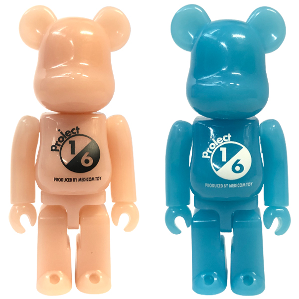 BE@RBRICK RED G.I.D. / BLUE G.I.D.