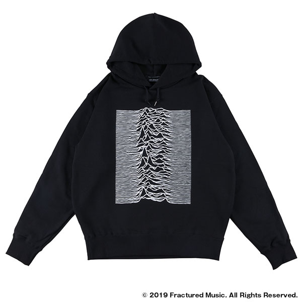 "PULLOVER HOODED ""UNKNOWN PLEASURES"""