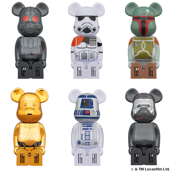 Cleverin BE@RBRICK STAR WARS /2020年9月1日(火)より
