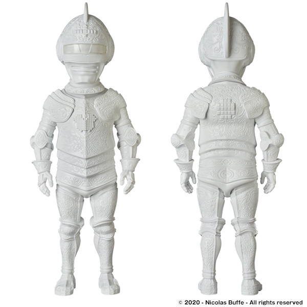 Armor of SUPER POLIFILO STATUE WHITE Ver.