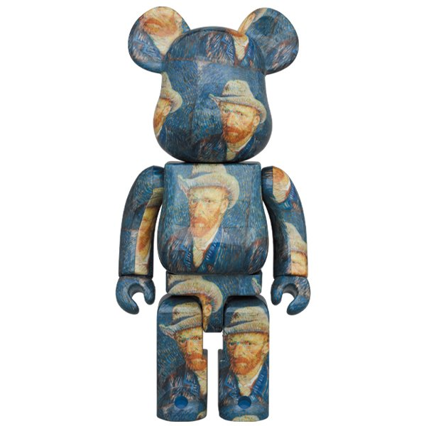 BE@RBRICK「Van Gogh Museum」Self-Portrait  with Grey Felt Hat 1000%