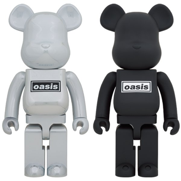BE@RBRICK OASIS 1000% WHITE/BLACK