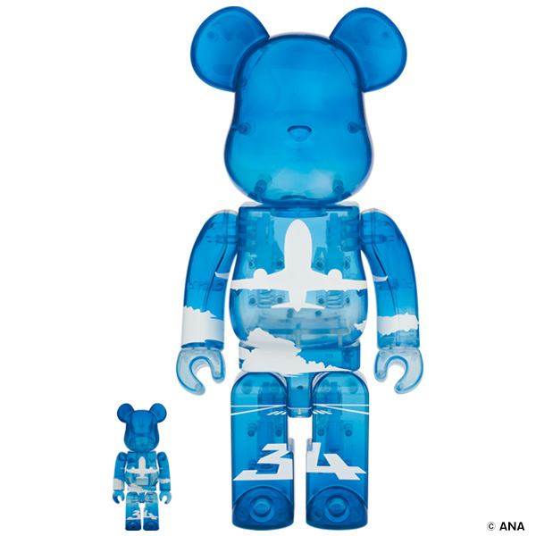BE@RBRICK for ANA ANAブルースカイ 100% & 400%