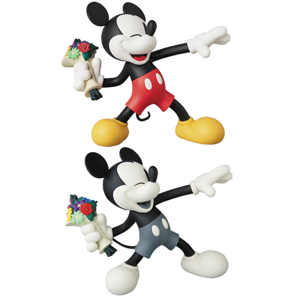 VCD-THROW-MICKEY-NORMAL-Ver./B&W-Ver.