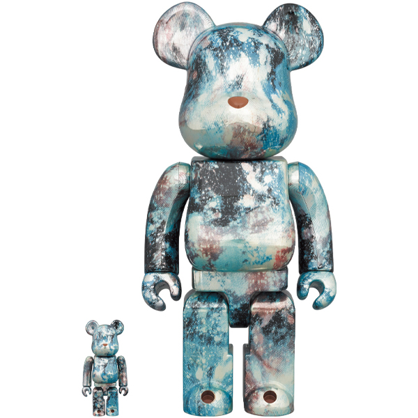 「BE@RBRICK PUSHEAD #5 100% & 400%」