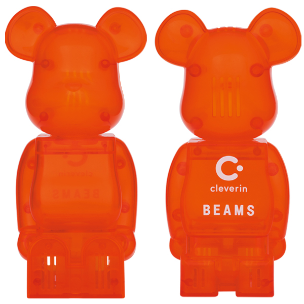 cleverin®️ BE@RBRICK BEAMS /11月13日(金)より予約開始!