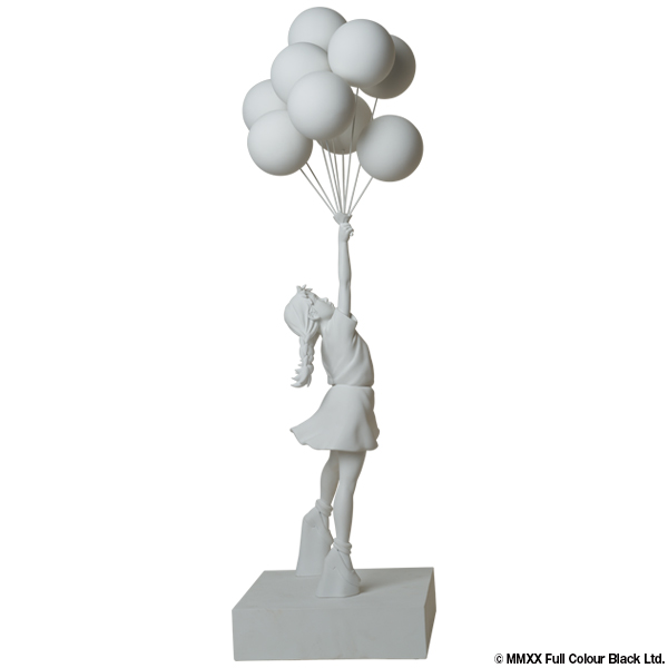 Sync. 3FT Flying Balloons Girl