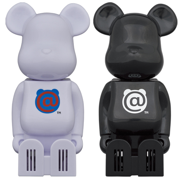 cleverin®︎ BE@RBRICK WHITE / BLACK
