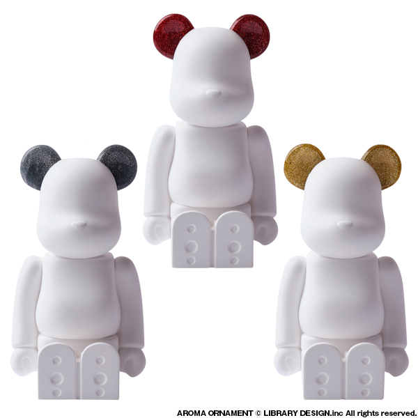 BE@RBRICK AROMA ORNAMENT No.9 Galaxy (HOLIDAY)  RED/SILVER/GOLD