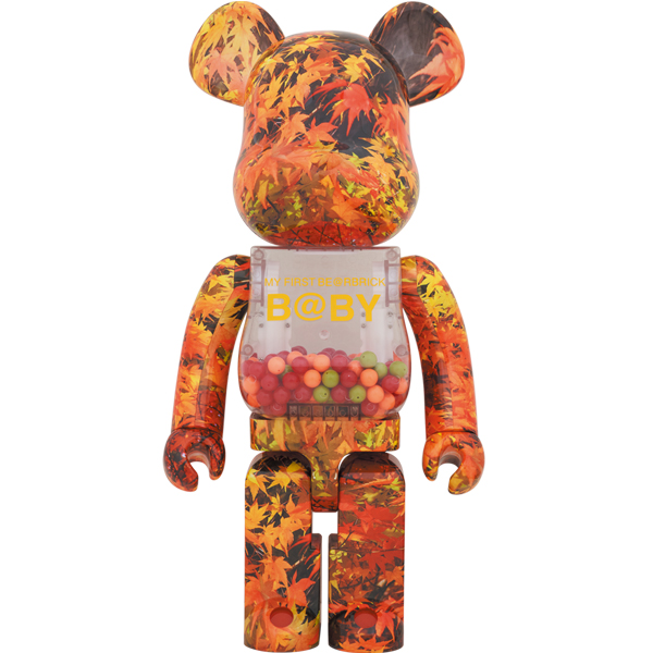 MY FIRST BE@RBRICK B@BY AUTUMN LEAVES Ver.1000%