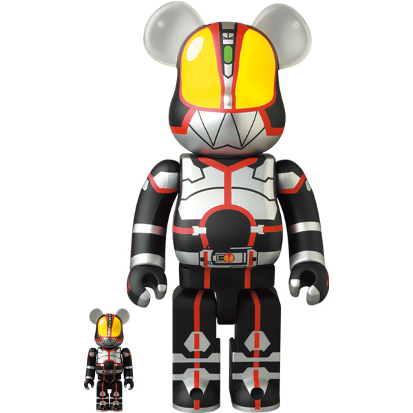 BE@RBRICK 仮面ライダーファイズ 100% & 400%