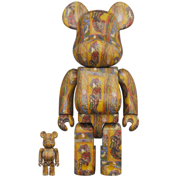 BE@RBRICK 「Van Gogh Museum」 Courtesan(after Eisen)100% & 400%