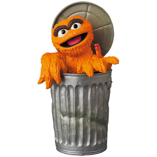UDF SESAME STREET シリーズ 2 OSCAR THE GROUCH (The Original Orange Fur Ver.)